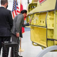 バーレーン向け攻撃ヘリコプターAH-1Z組み立て開始 202…