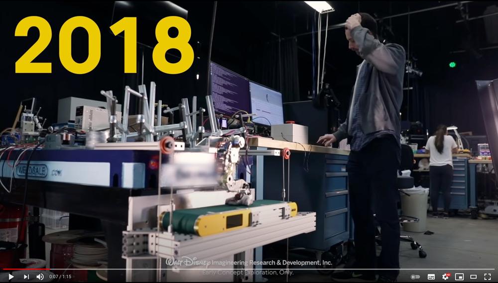 グルートのロボット開発風景(スクリーンショット)