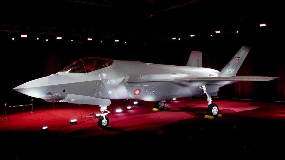 デンマーク向けF-35Aの1号機(Image:デンマーク国防軍)