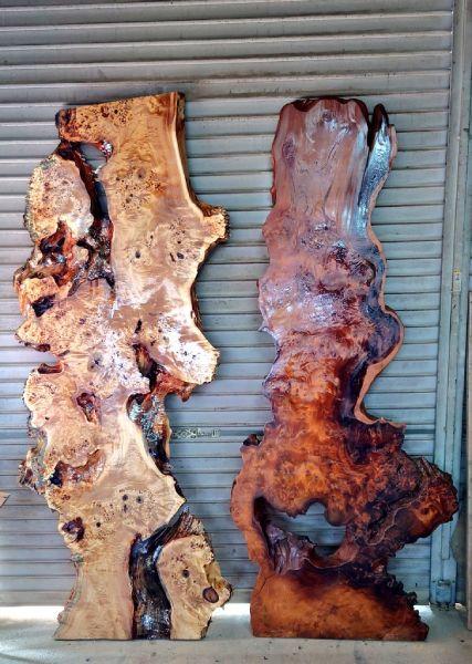 極上杢の全体画像。実は大変希少かつ高価な木材。
