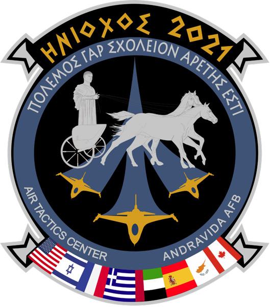 「INIOCHOS 21」のインシグニア(Image:ギリシャ空軍)
