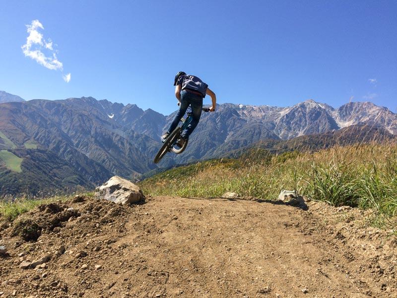 「白馬岩岳MTB PARK」