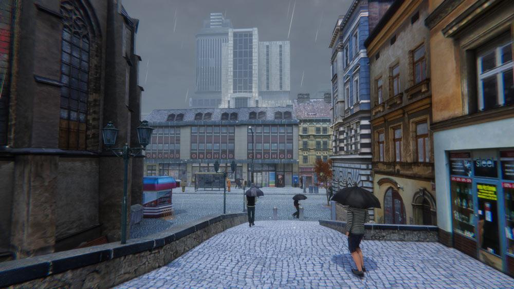 雨のプラスラヴ(Praslav)