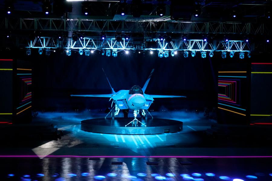 KF-21「ポラメ(若鷹)」試作1号機(Image:KAI)