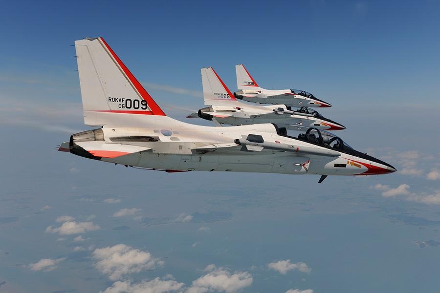 ロッキード・マーティンの協力で完成した韓国空軍のT-50(Image:KAI)