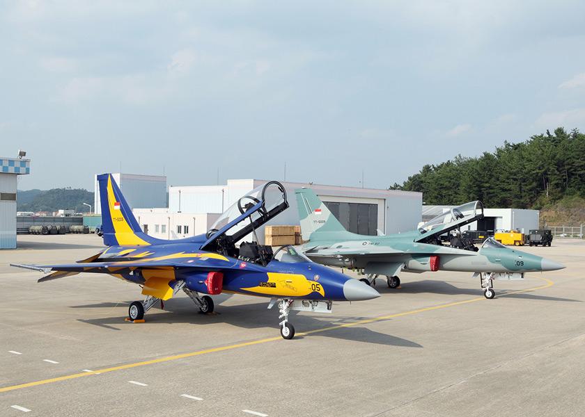 インドネシア空軍のT-50i(Image:KAI)
