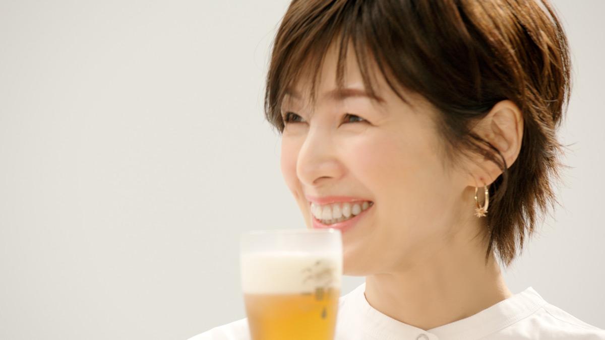 唐沢寿明と吉瀬美智子がCM初共演 「キリン一番搾り 糖質ゼロ」新TVCM