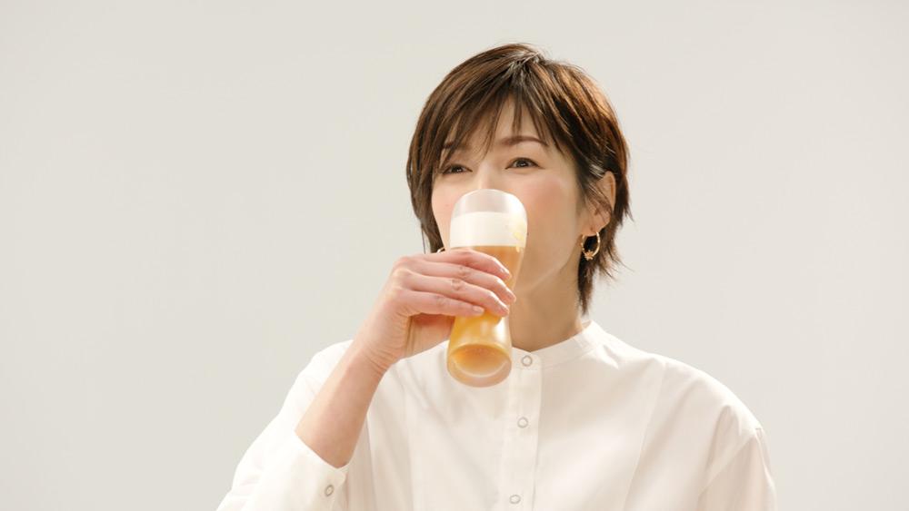 口にすると吉瀬美智子さんの表情が明るく
