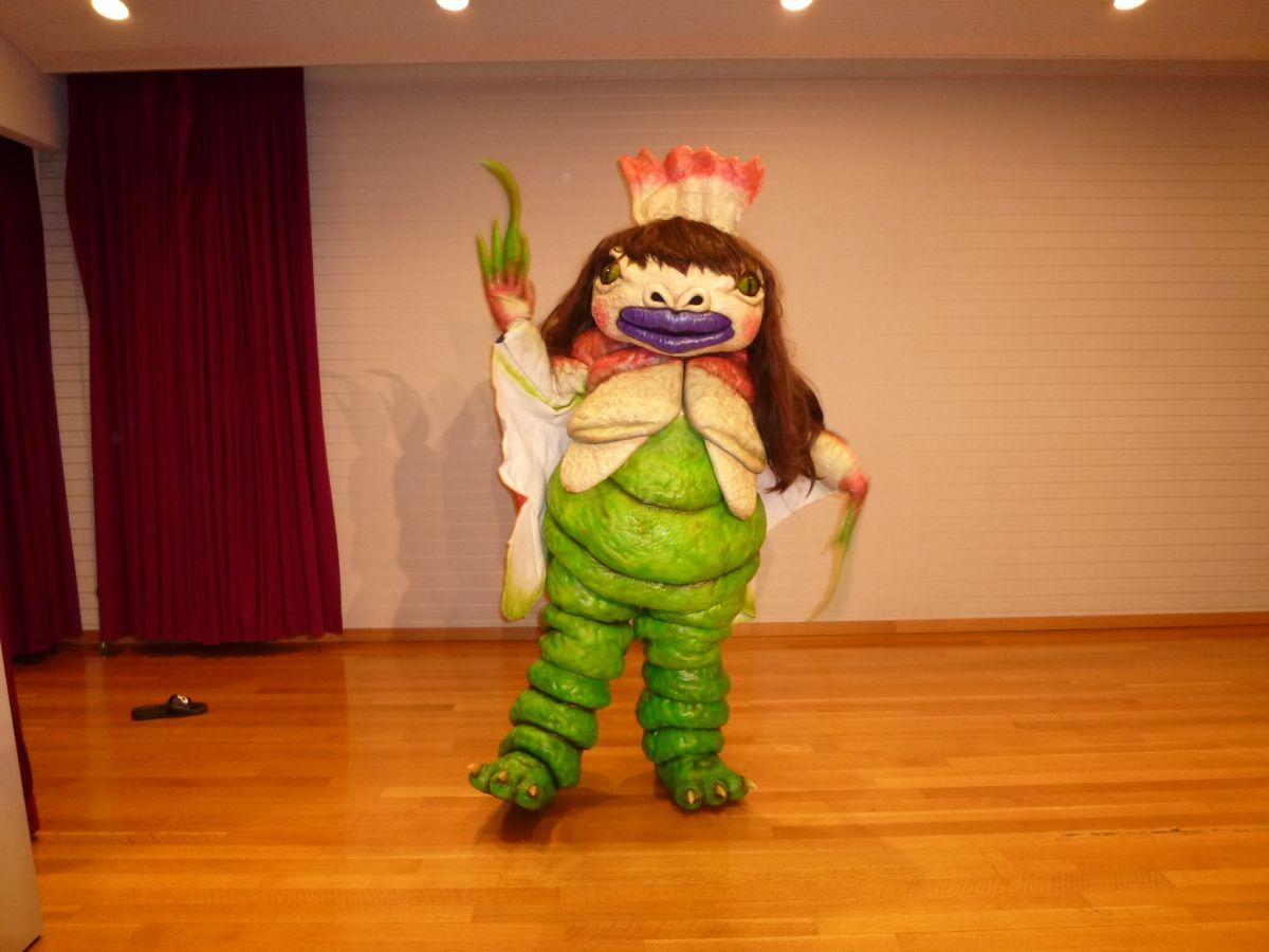 ゆるくないゆるキャラ界に新星現る 兵庫・加西市に食虫植物キャラ「健美」爆誕