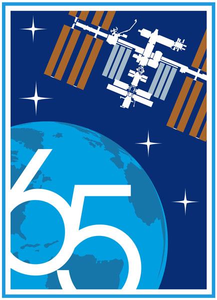 第65次長期滞在のミッションパッチ(Image:NASA)