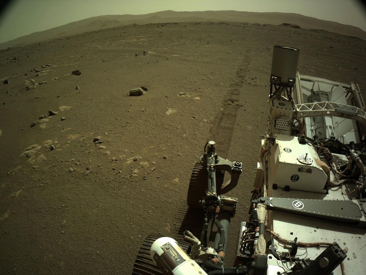 火星上の「Perseverance」(Image:NASA/JPL-Caltech)