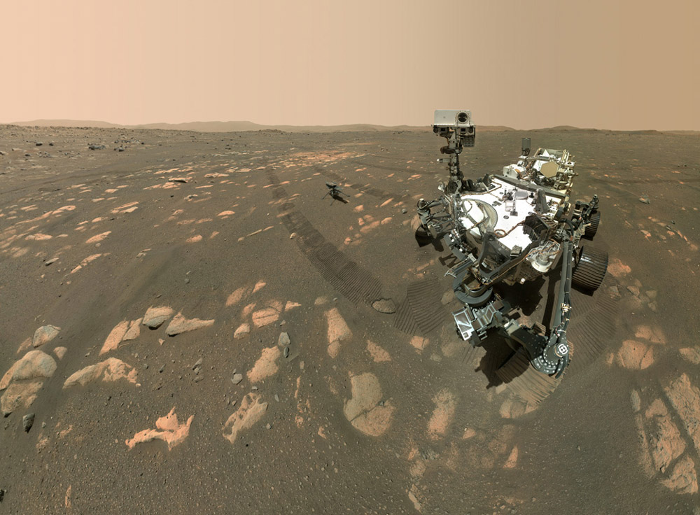 NASA火星ローバー「Perseverance」の自撮り写真(Image:NASA/JPL-Caltech)