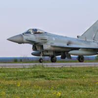 イギリス空軍戦闘機 NATO防空任務でルーマニア入り