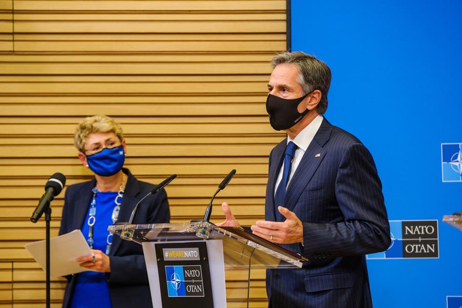 アメリカのブリンケン国務長官(Image:NATO)