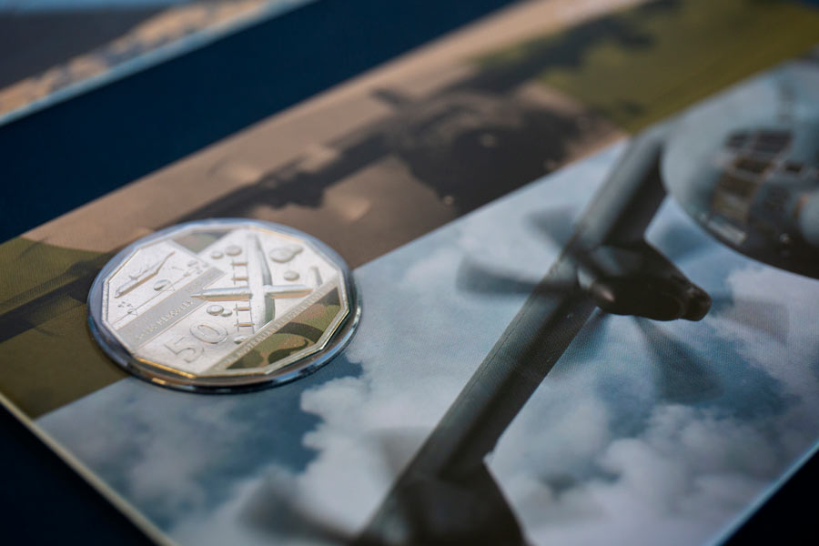 100周年記念コイン(Image:Commonwealth of Australia)