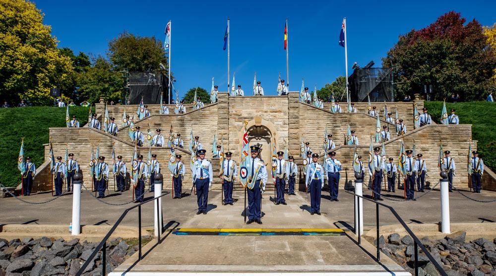 軍旗授与式典(Image:Commonwealth of Australia)