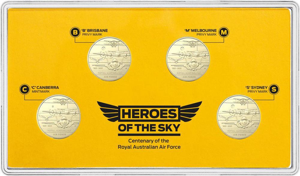 記念金貨セット(Image:Royal Australian Mint)