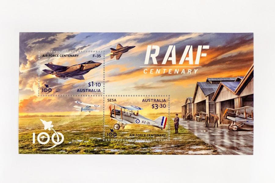 100周年記念切手(Image:Commonwealth of Australia)