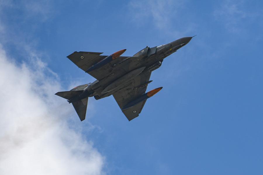 ギリシャ空軍のF-4E(Image:USAF)