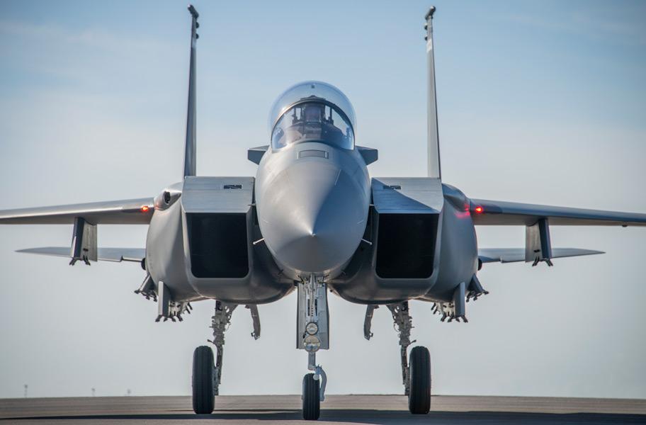 F-15EXイーグルII(Image:USAF)