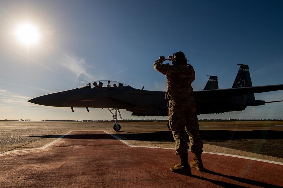 F-15EX(Image:USAF)