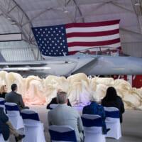 アメリカ空軍F-15の最新モデル F-15EXを…