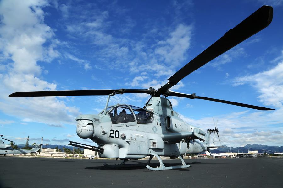 アメリカ海兵隊のAH-1Z(Image:USMC)