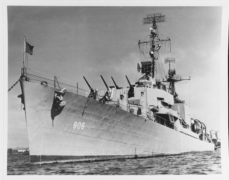 初代の駆逐艦ハイビー(Image:U.S.Navy)