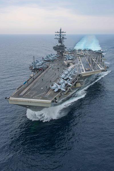 空母ロナルド・レーガン(Image:U.S.Navy)