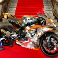 志摩の萌えキャラ「碧志摩メグ」の痛バイクが公開 モータースポ…