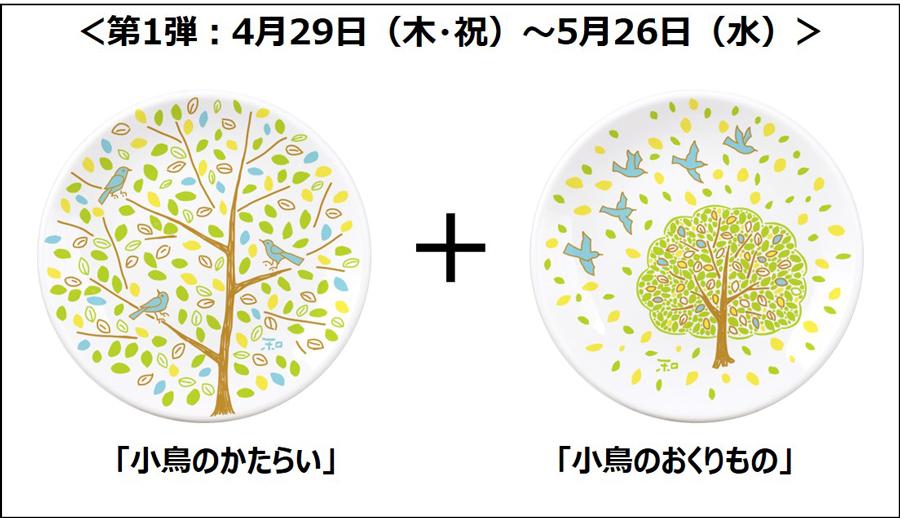 「春の彩り小皿セットプレゼントキャンペーン」も開催