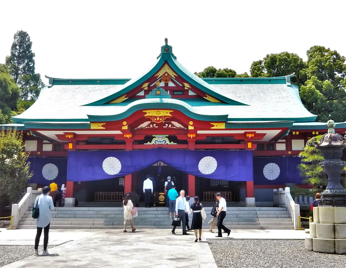 日枝神社(石川晶子撮影)