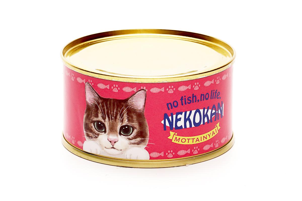猫缶風さかなの缶詰「NEKOKAN」