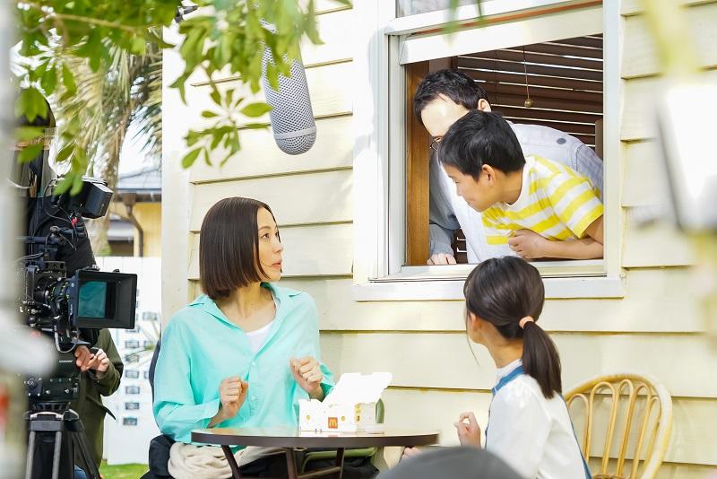 4人家族のお母さんを演じた木村さん