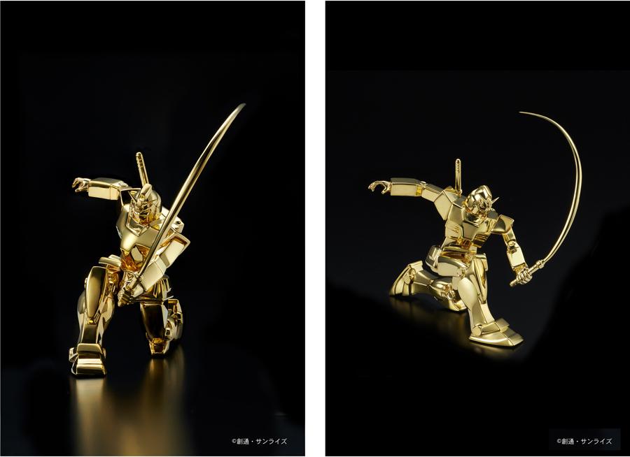 純金像 RX-78-2 ガンダム(ビームサーベルVer.)
