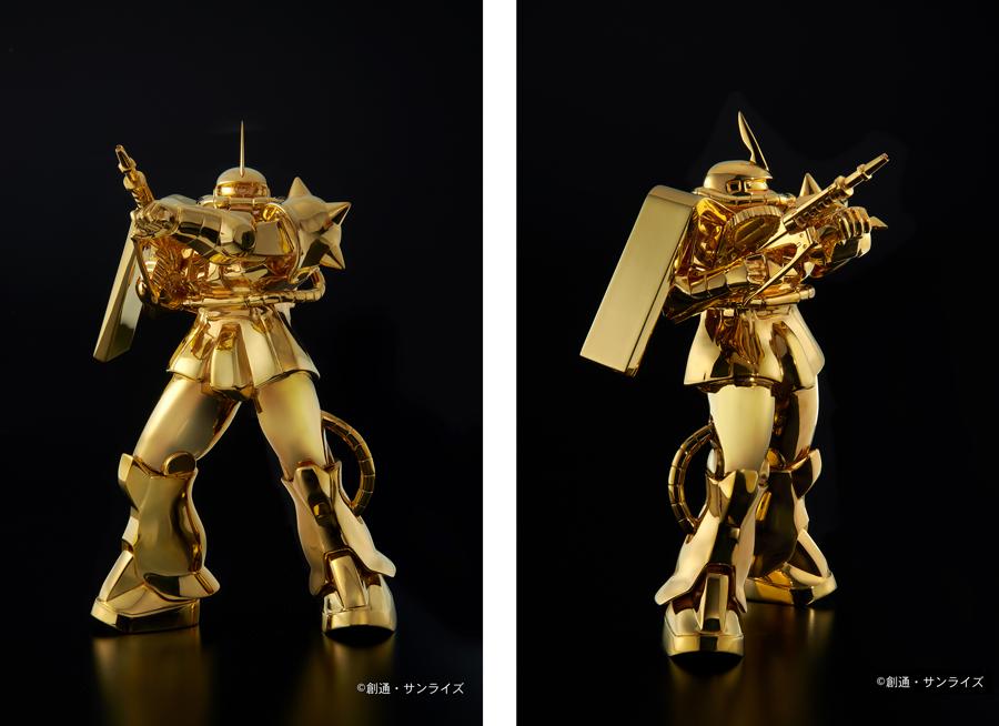 純金像 シャア専用ザクII