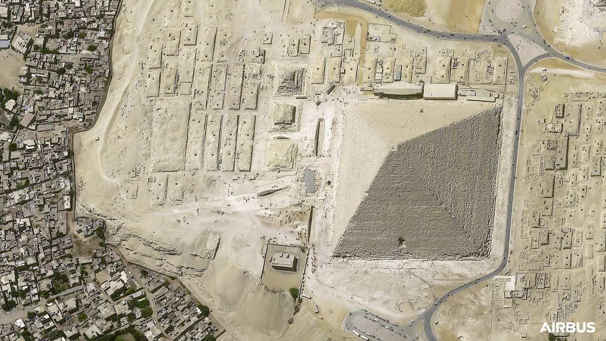 地球観測衛星プレアデス・ネオ3号機 宇宙からとは思えない超高精細画像を公開