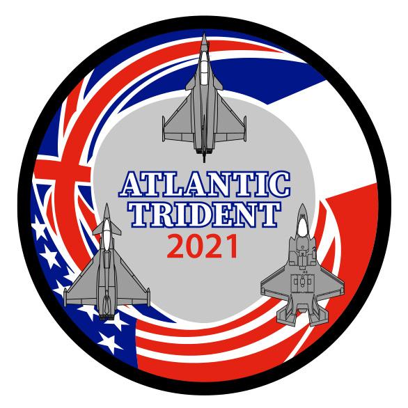 「アトランティック・トライデント」のインシグニア(Image:フランス航空宇宙軍)