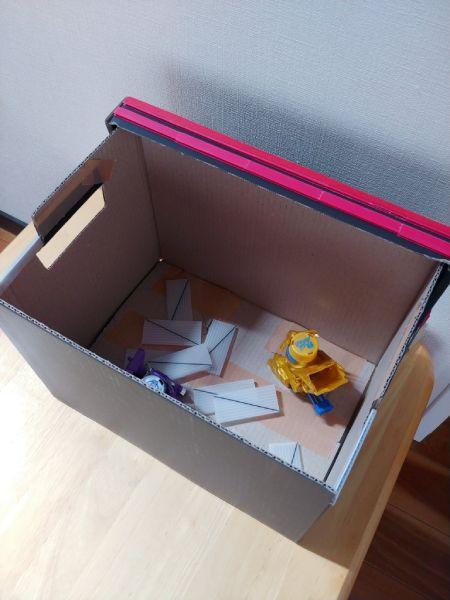 箱で作っているので後片付けも簡単なのがポイント。