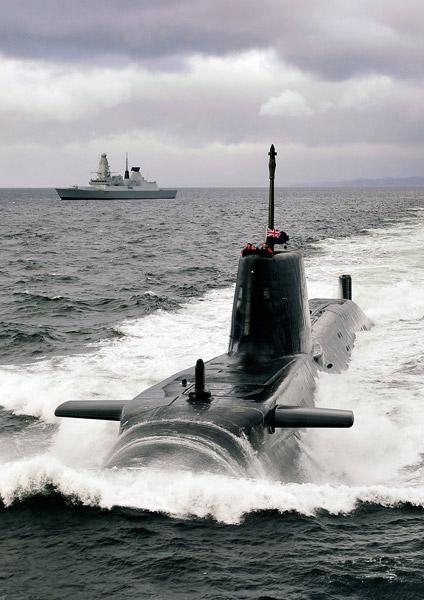 潜水艦アスチュート(Image:BAE Systems)