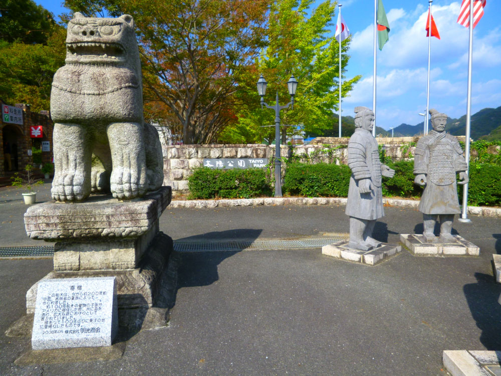 兵馬俑と狛犬