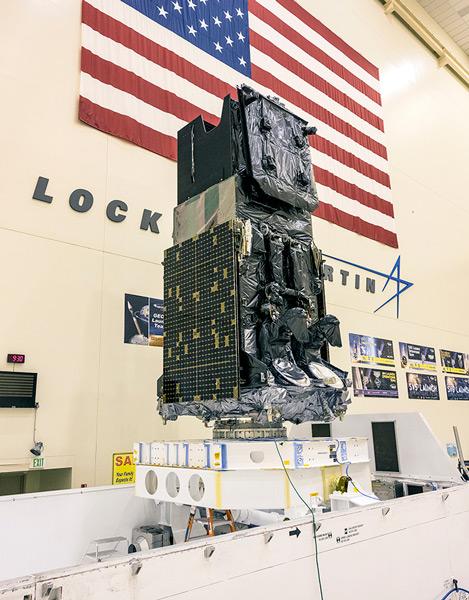 SBIRS GEO-5(Image:Lockheed Martin)