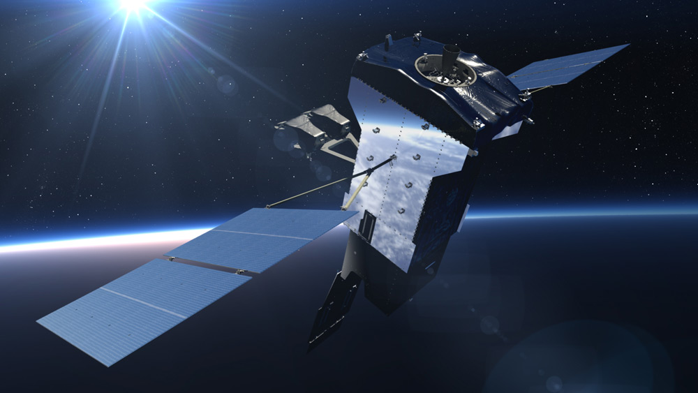 SBIRS GEO-5のイラスト(Image:Lockheed Martin)