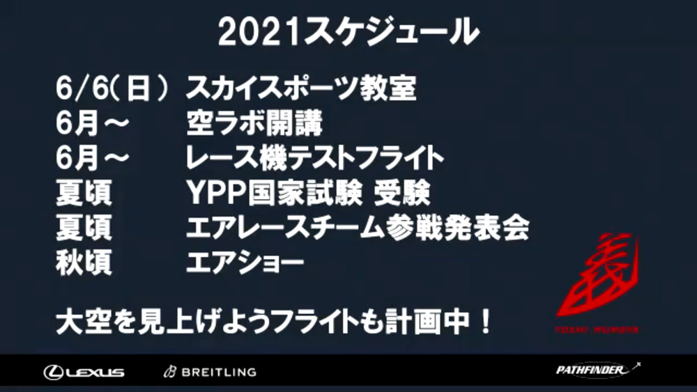 2021年スケジュール