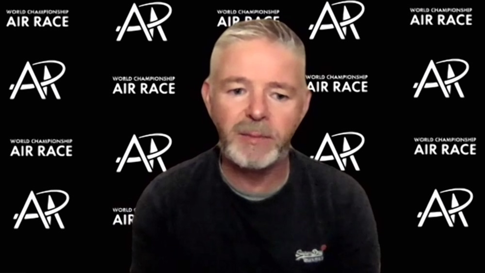 「ワールドチャンピオンシップ・エアレース」のウィリー・クルークシャンクCEO