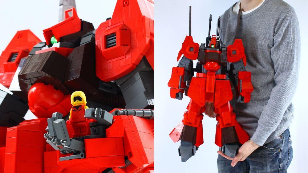 「構想10年 設計3年」 LEGOビルダーがMS「リック・ディアス」をレゴブロックで完全再現