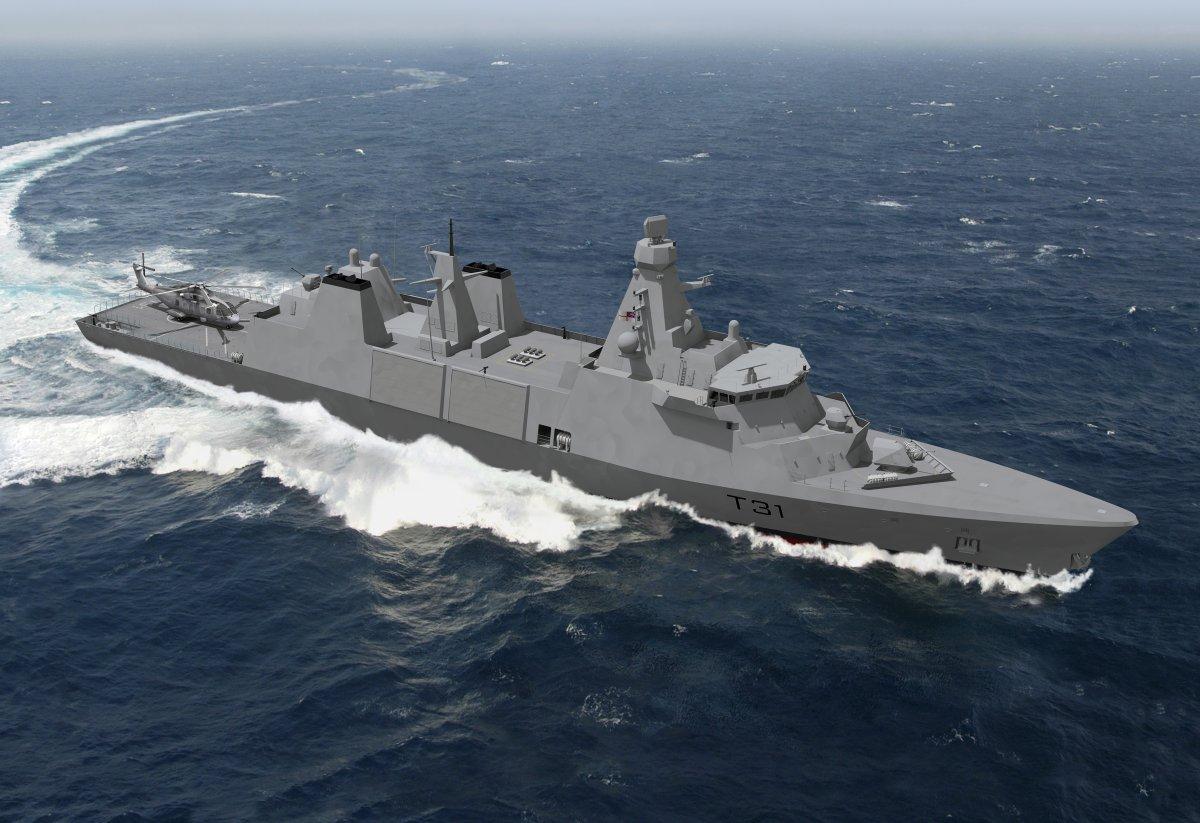 イギリス海軍31型フリゲート5隻の艦名決定「インスピレーション級」と命名