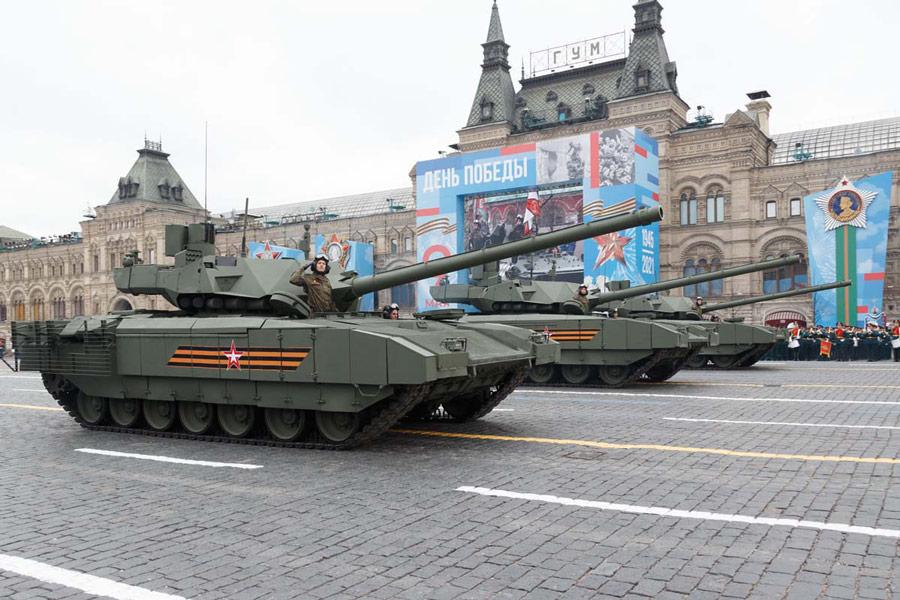T-14戦車(Image:ロシア国防省)