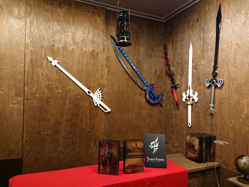 さまざまな形の剣