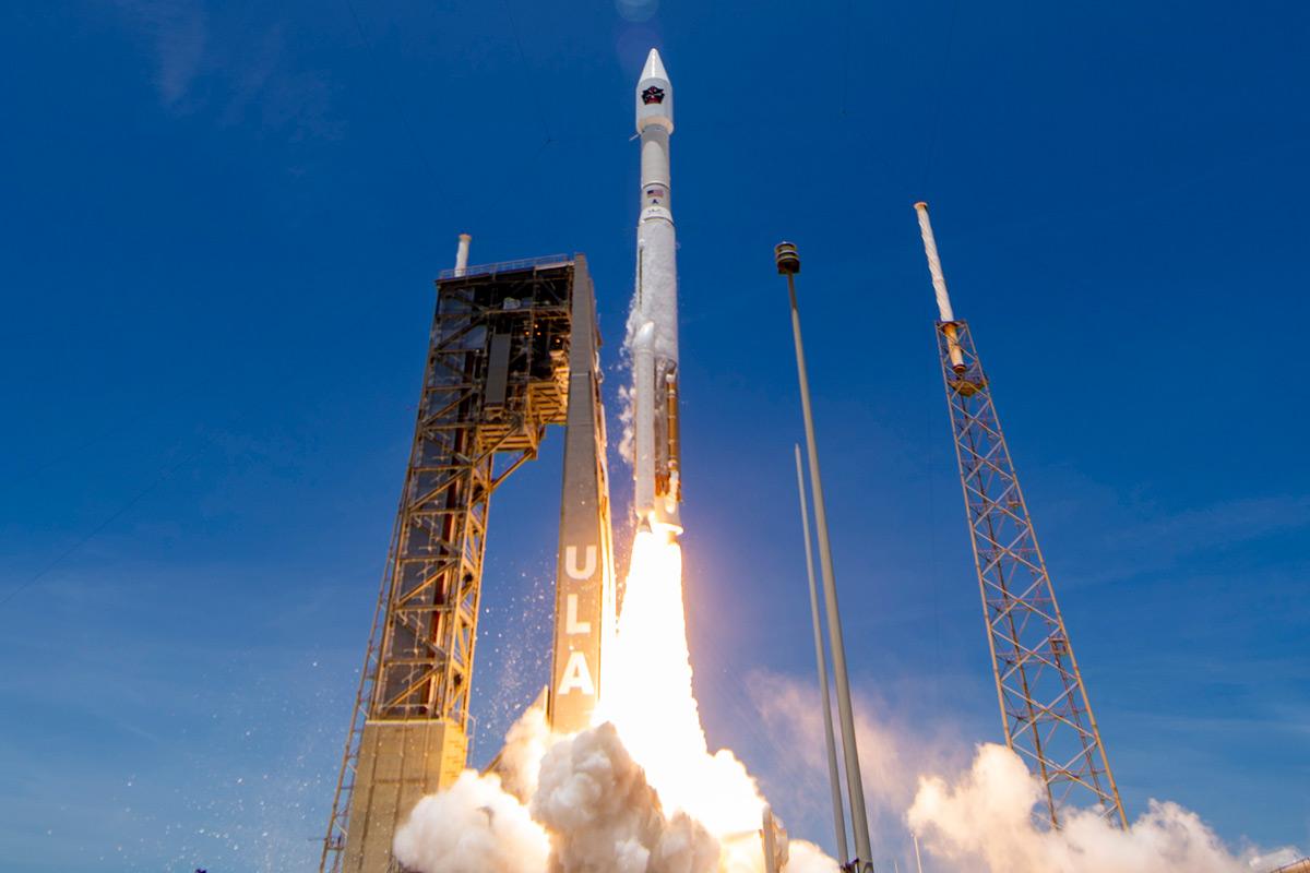 アメリカの弾道ミサイル警戒衛星「SBIRS GEO-5」打ち上げ成功